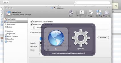 Keyboard Shortcuts Launcher - Quicksilver