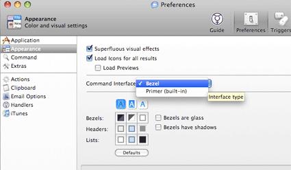 Bezel Interface - Quicksilver