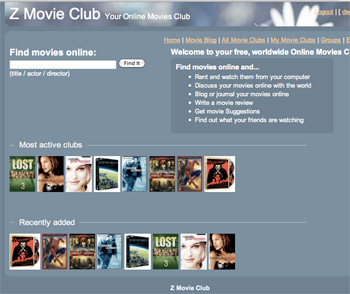 Z Movie Club Online Movies Home